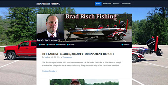 Thumbnail screenshot of BradRisch.com website